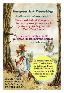 Afis Copilareste si daruieste 1 iunie