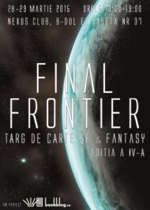 Afis Final Frontier 1 - redimensionat