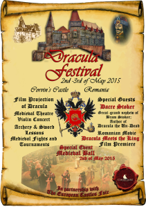 afis dracula festival engleza