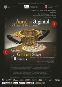 Afis_ Aurul si argintul antic_Alba Iulia